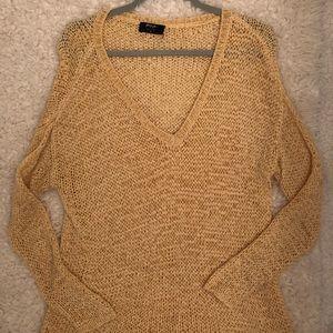 Nasty gal orange sweater